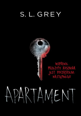 The Apartment - S.L. Grey - Polish Cover - Csarna Owka